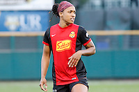 Rochester, NY - Saturday July 09, 2016: Western New York Flash forward Jessica McDonald (14) during a regular season National Women's Soccer League (NWSL) match between the Western New York Flash and the Seattle Reign FC at Frontier Field.