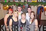 Ringing in the New Year in Matt McCoy's Bar, Abbeyfeale were l-r: Gemma and Lisa Crowley, David Sweeny, Catherine Crowley, Colm Fitzsimons and Maire Crowley