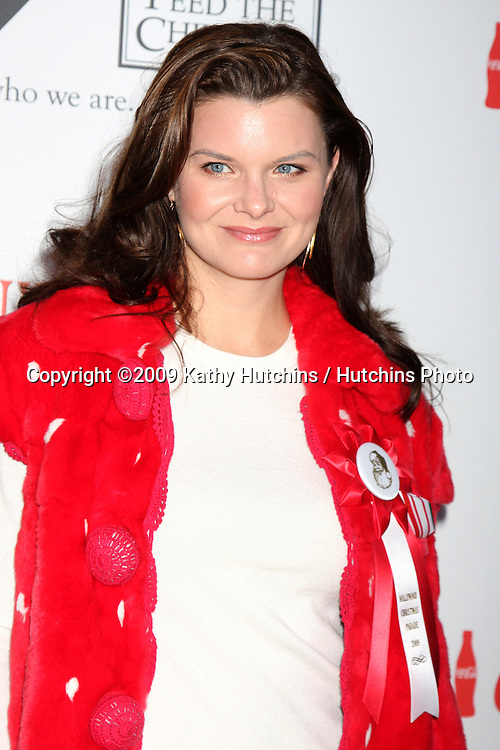 Heather Tom.arriving at the 2009 Hollywood Christmas Parade .Hollywood Roosevelt Hotel.Los Angeles,  CA.November 29, 2009.©2009 Kathy Hutchins / Hutchins Photo.