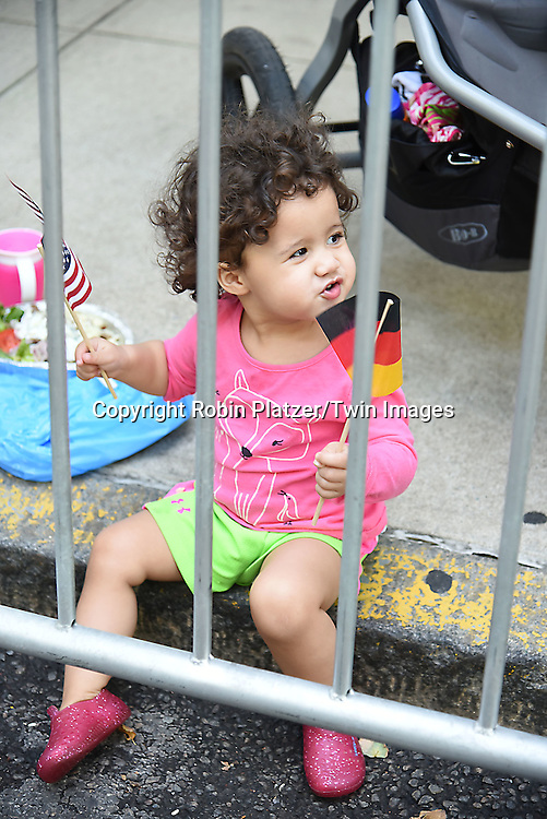 Ava Bynoe attends the 59th German-American Steuben Parade on September 17, 2016 on Fifth Avenue in New York City, New York, USA. <br /> <br /> photo by Robin Platzer/Twin Images<br />  <br /> phone number 212-935-0770