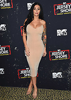 "WEST HOLLYWOOD, CA - MARCH 29:   Jenni Farley at the ""Jersey Shore Family Vacation"" Global Premiere at HYDE Sunset: Kitchen + Cocktails on March 29, 2018 in West Hollywood, California. (Photo by Scott KirklandPictureGroup)"