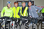 RUN: Sharon and Mary Fealy (Abbeydorney),Bridget O'Connor and Sinead Allen (Ballymacelligott) ready to take on the 70k and 45k 5t Annaul Tour Le Ballyfinnane Cycle Run to raise funds for the Ballyfinnane Community on Saturday morning.