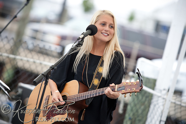 Emma Joy Galvin performing at Newport Waterfront Events