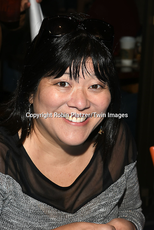 Ann Harada attends the Broadway Cares/Equity Fights Aids Flea Market and Grand Auction on September 25, 2016 at the Music Box Theatre and in Shubert Ally in New York, New York, USA. <br /> <br /> photo by Robin Platzer/Twin Images<br />  <br /> phone number 212-935-0770
