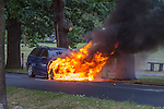 Car Fire in Theydon Bois 180615