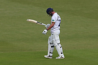 Ryan ten Doeschate of Essex leaves the field having been dismissed for 4 during Worcestershire CCC vs Essex CCC, Specsavers County Championship Division 1 Cricket at New Road on 13th May 2018