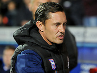Ipswich Town manager Paul Hurst <br /> <br /> Photographer Hannah Fountain/CameraSport<br /> <br /> The EFL Sky Bet Championship - Ipswich Town v Middlesbrough - Tuesday 2nd October 2018 - Portman Road - Ipswich<br /> <br /> World Copyright &copy; 2018 CameraSport. All rights reserved. 43 Linden Ave. Countesthorpe. Leicester. England. LE8 5PG - Tel: +44 (0) 116 277 4147 - admin@camerasport.com - www.camerasport.com