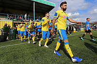 Haringey start the match with 5 Greek Cypriot players during Haringey Borough vs Herne Bay, Emirates FA Cup Football at Coles Park Stadium on 7th September 2019