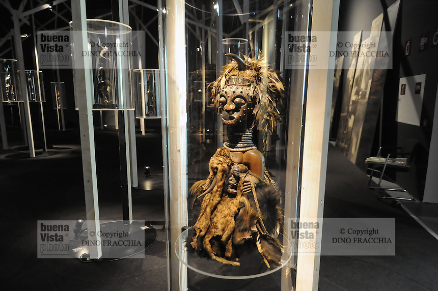 - Milano, il nuovo Museo delle Culture MUDEC nell'ex area industriale Ansaldo in via Tortona, dedicato alle culture del mondo. Mostra &quot;Africa, terra degli spiriti&quot;<br />