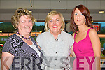 LISTOWEL LADIES: The Listowel Ladies enjoying a fun time at the Friends of KGH Night at the Kingdom Greyhound Stadium on Friday l-r: Jean Lynch, Agnes McCarthy and Pauline Lynch.
