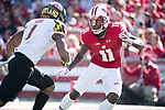 Wisconsin Badgers defensive back Nick Nelson (11) during an NCAA Big Ten Conference football game against the Maryland Terrapins Saturday, October 21, 2017, in Madison, Wis. The Badgers won 38-13. (Photo by David Stluka)