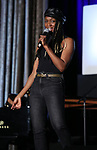 "Jewelle Blackman from ""Hadestown"" during the BroadwayCON 2020 First Look at the New York Hilton Midtown Hotel on January 24, 2020 in New York City."