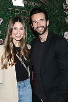 LOS ANGELES - MAR 11:  Natalie Tenerelli and Dan Cox at the Seagram's Escapes Tropical Rose Launch Party at the hClub on March 11, 2020 in Los Angeles, CA