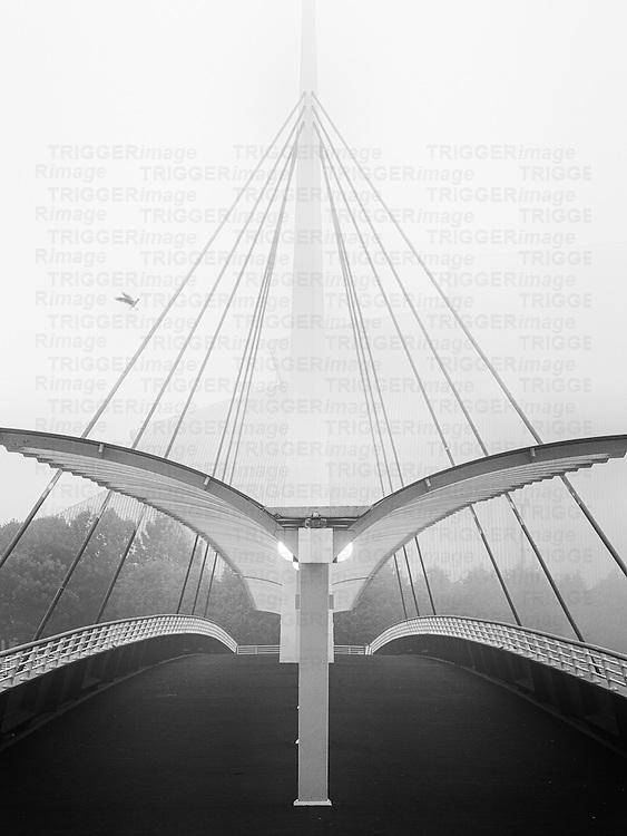 Bell's Bridge, River Clyde, Glasgow, Scotland, UK