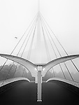 Bell's Bridge, River Clyde, Glasgow, Scotland, UK