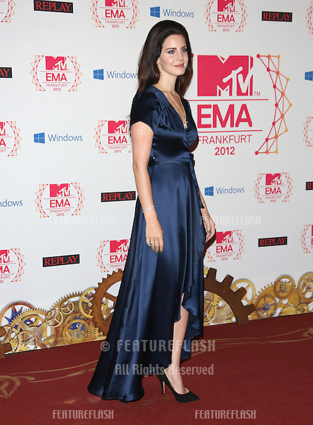 Lana Del Rey arriving for the The MTV EMA's 2012 held at Festhalle, Frankfurt, Germany. 11/11/2012 Picture by: Henry Harris / Featureflash