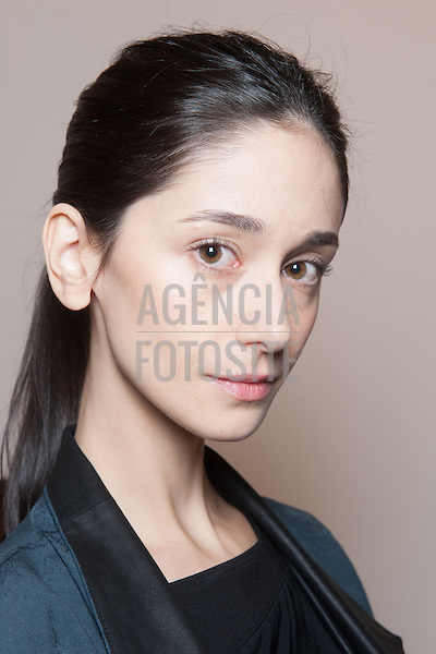 Ralph Lauren backstage<br /> Womenswear Fall Winter 2014 New York Fashion Week February 2014 Nova Iorque, EUA &ndash; 02/2014 - Desfile de Ralph Lauren durante a Semana de moda de Nova Iorque - Inverno 2014.&nbsp;<br />