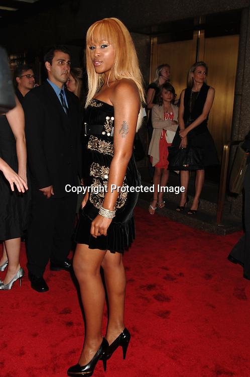 Eve..arriving at The Conde Nast Media Group's Third Annual Live Fashion Rocks Concert at Radio City Music Hall on September 7, 2006. ..Robin Platzer, Twin Images
