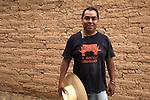 Workshop Mud Architecture in Nochixtlan, Oaxaca, March 31 to April 01, 2012. Mixtec Native people from Nochixtlan, Jaltepetongo, Tilantogo worked for three day building an adobe house in Nochixtlan, Oaxaca. Photo by Heriberto Rodriguez