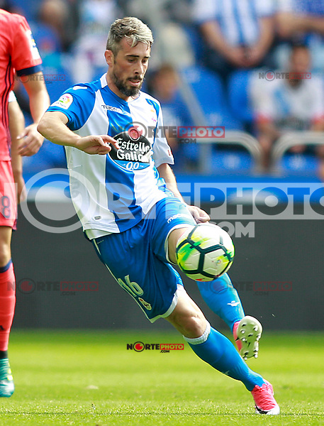 Deportivo de la Coruna's Luisinho Correia during La Liga match. September 10,2017. (ALTERPHOTOS/Acero) /NortePhoto.com