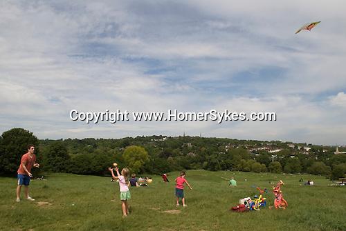 Hampstead Heath, London NW3. England