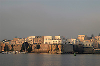 - Puglia, otranto, la citt&agrave; vecchia e le mura visti dal mare<br /> <br /> - Apulia, Otranto, the ancient town and the walls seen from the sea