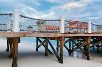 Pier in Turks and Caicos. Providenciales