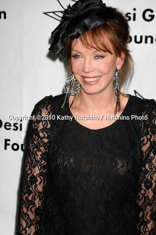 """LOS ANGELES - OCT 9:  Lesley-Anne Down arrives at the """"Evening WIth the Stars 2010"""" benefit for the Desi Geestman Foundation at Farmer's Market.Theatre on October 9, 2010 in Los Angeles, CA"""