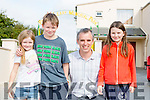 The Kelliher family at the Gneeveguilla Carnival on Sunday were l-r: Lorna, liam, Kevin and Anneliese