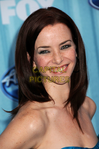 ANNIE WERSCHING.American Idol Top 12 Party held at Area, Los Angeles, California, USA..March 5th, 2009.headshot portrait strapless.CAP/ADM/BP.©Byron Purvis/AdMedia/Capital Pictures.