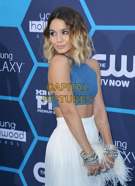 Vanessa Hudgens attends The 16th Annual Young Hollywood Awards held at The Wiltern Theatre in Los Angeles, California on July 27,2014                                                                               <br /> CAP/DVS<br /> &copy;DVS/Capital Pictures