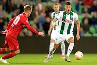 GRONINGEN - Voetbal , FC Groningen - FC Twente , KNVB Beker seizoen 2018-2019, 27-09-2018,  FC Groningen speler Ajdin Hrustic