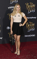 www.acepixs.com<br /> <br /> March 2 2017, LA<br /> <br /> Carly Schroeder arriving at the premiere of Disney's 'Beauty And The Beast' at the El Capitan Theatre on March 2, 2017 in Los Angeles, California.<br /> <br /> By Line: Famous/ACE Pictures<br /> <br /> <br /> ACE Pictures Inc<br /> Tel: 6467670430<br /> Email: info@acepixs.com<br /> www.acepixs.com