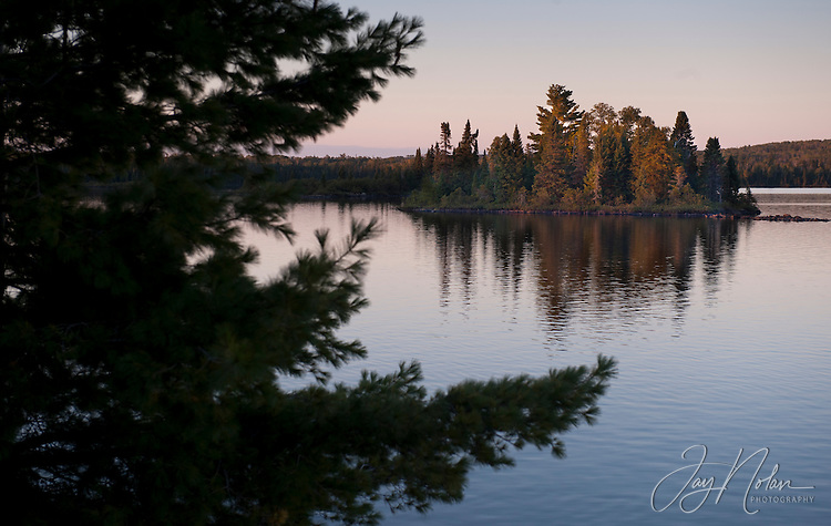 The Boundary Waters Canoe Area is a million square acres of camping , hiking and canoeing wilderness, in northern Minnesota.