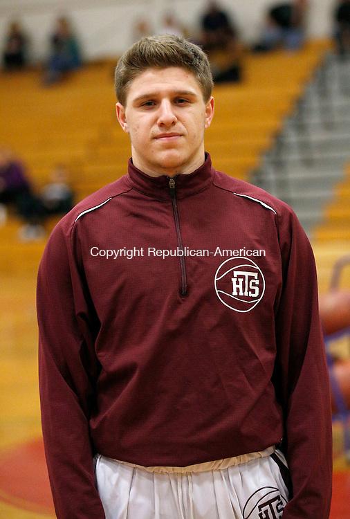 Torrington, CT- 11 January 2016-011116CM04-  Torrington High School basketball captain Zack Mancini.      Christopher Massa Republican-American