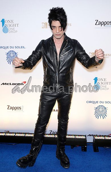 18 March 2016 - Las Vegas, Nevada -  Criss Angel. Cirque Du Soleil presents star-studded blue carpet at Fourth Annual One Night for ONE DROP at the Cleveland Clinic Lou Ruvo Center for Brain Health. Photo Credit: MJT/AdMedia