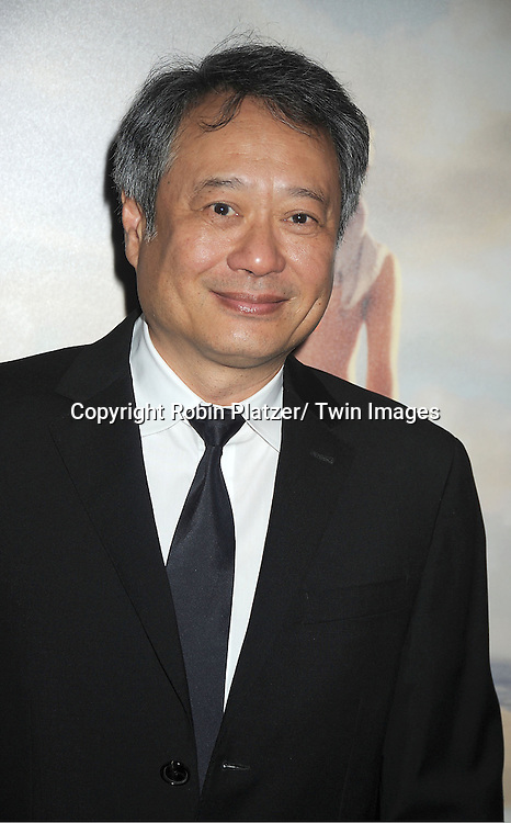 "director Ang Lee attends the 50th Annual New York Film Festival Opening Night Gala presentation of ""Life of Pi"" starring Suraj Sharma and directored by Ang Lee on September 28, 2012 in New York City. The screening was at Alice Tully Hall at Lincoln Center."