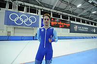 SPEEDSKATING: SALT LAKE CITY: 06-12-2017, Utah Olympic Oval, trainingswedstrijd ISU World Cup, Junior World Record 3000m 3.41.19, Allan Dahl Johansson, ©photo Martin de Jong