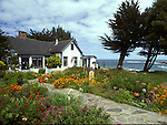 View of Agate Cove Inn, Mendocino, California