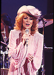 Dottie West 1981 on Midnight Special.© Chris Walter.