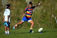 Action from the Swindale Shield Wellington premier club rugby match between Johnsonville and Tawa at Helston Park in Wellington, New Zealand on Tuesday, 25 April 2017. Photo: Dave Lintott / lintottphoto.co.nz