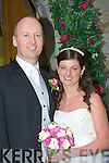 Joleyne, daughter of Sandra O'Shea and Billy Pickford, Riverwalk, Oakpark, Tralee and Gene, son of Breda and Michael Pigott, Cahills Park, Tralee who were married on Friday in Balloonagh Convent Church, Tralee by Fr David Gunn. Best man was Keith O'Sullivan, and groomsman was Jason Morrissey. Bridesmaids were, Jean O'Shea and Claire Pigott. Flowergirls were, Heather and Lily O'Brien. Pageboy was Keenan Picford. Reception was held in Ballyroe Hights Hotel, Tralee. The couple will reside Tralee....