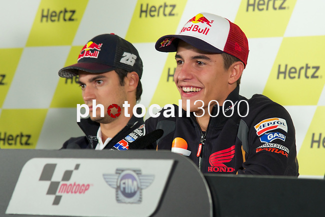 hertz british grand prix during the world championship 2014.<br /> Silverstone, england<br /> August 28, 2014. <br /> marc marquez<br /> PHOTOCALL3000/ RME