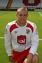 Michael Bostwick of Stevenage at the Stevenage FC team photo shoot at The Lamex Stadium, Broadhall Way, Stevenage on Saturday, 24th July, 2010.© Kevin Coleman 2010