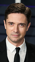 BEVERLY HILLS, CA - FEBRUARY 24: Topher Grace at the 2019 Vanity Fair Oscar Party at the Wallis Annenberg Center for the Performing Arts on February 24, 2019 in Beverly Hills, California. (Photo by Xavier Collin/PictureGroup)