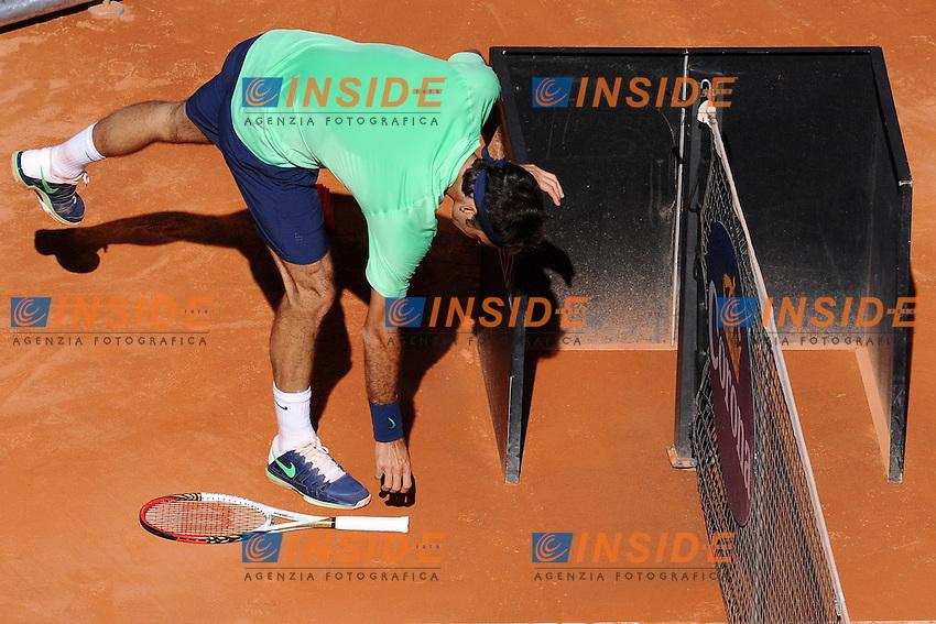 Roger Federer.Roma 19/05/2013 Foro Italico .Tennis Internazionali d'Italia 2013 .Foto Antonietta Baldassarre Insidefoto