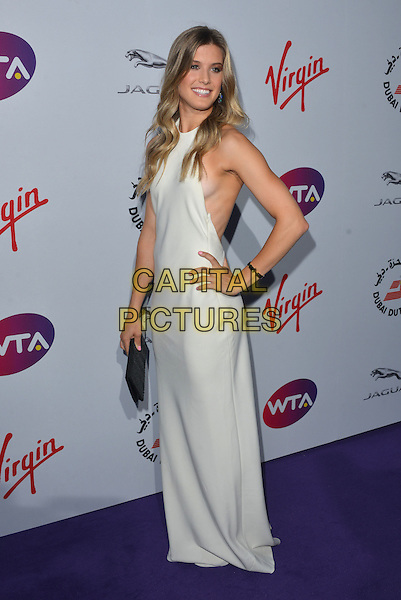 Eugenie Bouchard<br /> attending the WTA Pre-Wimbledon Party at  The Roof Gardens, Kensington, London England 25th June 2015.<br /> CAP/PL<br /> &copy;Phil Loftus/Capital Pictures