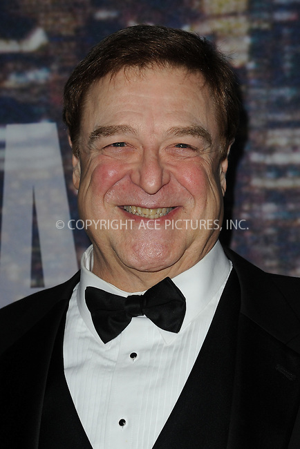 WWW.ACEPIXS.COM<br /> February 15, 2015 New York City<br /> <br /> John Goodman walks the red carpet at the SNL 40th Anniversary Special at 30 Rockefeller Plaza on February 15, 2015 in New York City.<br /> <br /> Please byline: Kristin Callahan/AcePictures<br /> <br /> ACEPIXS.COM<br /> <br /> Tel: (646) 769 0430<br /> e-mail: info@acepixs.com<br /> web: http://www.acepixs.com
