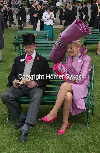 Royal Ascot 2006  Mr and Mrs Edward Claridge