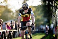 belgian champion Toon Aerts (BEL/Telenet Baloise Lions)<br /> <br /> Elite & U23 Mens Race<br /> 42nd Superprestige cyclocross Gavere 2019<br /> <br /> ©kramon